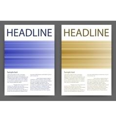 design magazine template vector image