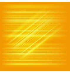 Digitally generated image of yellow light and stri vector