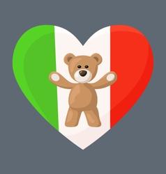Italian Teddy Bears vector
