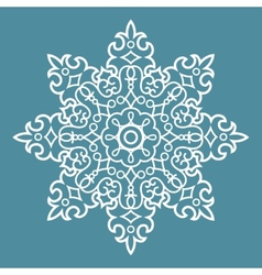 Round Arabesque Pattern vector image