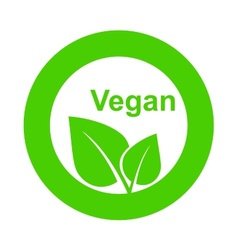 Symbol vegetarian food vector