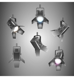 stage lighting vector image vector image