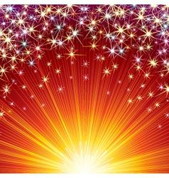 celebration vector template vector image