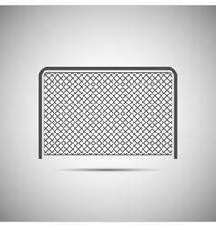 Ice hockey icon vector image