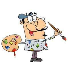 Painter Man vector image