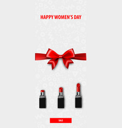 8 march womens day fashion sale banner vector image