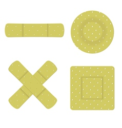 bandaid vector image