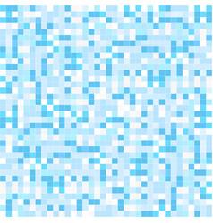 Blue mosaic backgrund - seamless vector