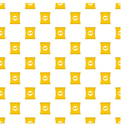 chips pattern seamless vector image