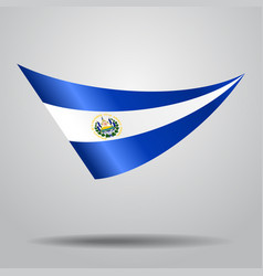 El salvador flag background vector