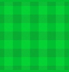 green lumberjack plaid pattern seamless vector image