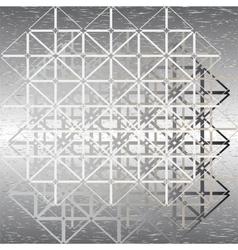 steel design vector image