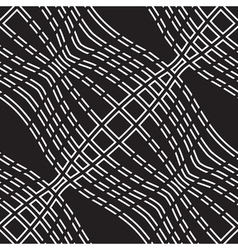 Wavy lines pattern vector