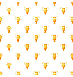 Winner cup pattern vector