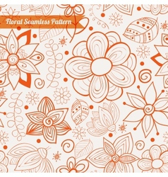 greeting ornate background vector image vector image