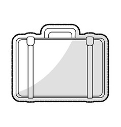 business briefcase icon image vector image