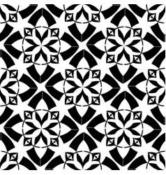 Seamless texture tribal geometric pattern vector