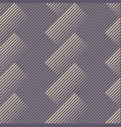 Abstract seamless pattern with diagonal lines vector
