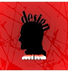 design mind vector image