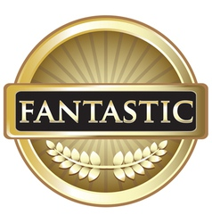 Fantastic Gold Label vector