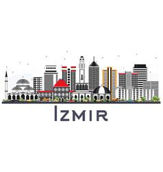 Izmir Skyline Building Vector Images 66