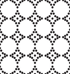 ornament seamless monochrome vector image