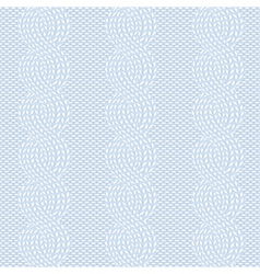 Spokes knitted pattern vector