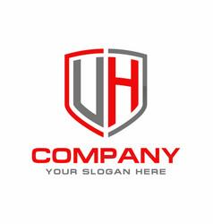 uh logo vector image