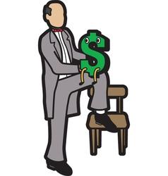 ventriloquist vector image