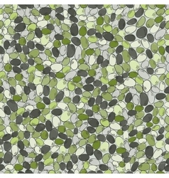 Sea stonesSeamless pattern with colored stones vector image