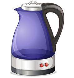 An electric kettle vector