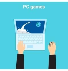 Computer videogame vector