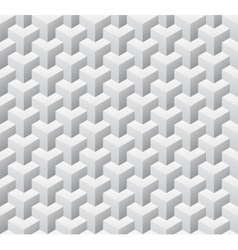 Cubic seamless pattern vector