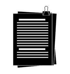 Document office icon image vector