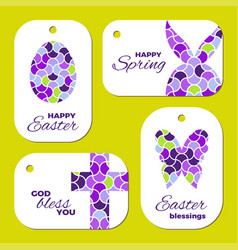Easter laser cutting vector