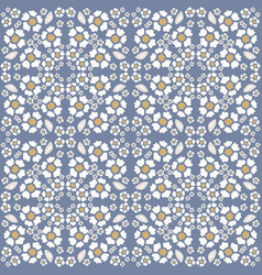 french shabby chic azulejos tile texture vector image