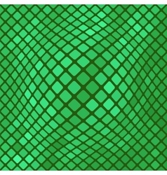 Green Diagonal Square PatternBackground vector