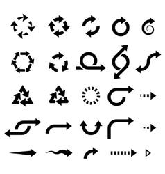 Set arrows vector