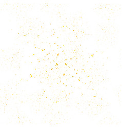 yellow confetti seamless pattern set of particles vector image