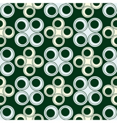 circles seamless design vector image vector image