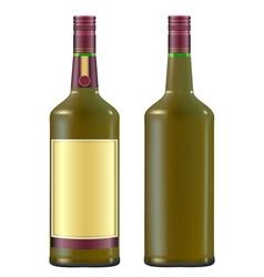 irish whiskey vector image vector image