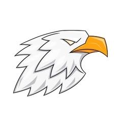 Eagle head logo 3 vector image