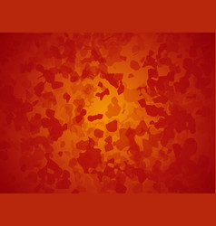 artistic red orange background forming by vector image