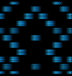 blue tire tracks background vector image