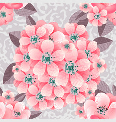 flower pattern samles vector image