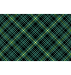 Gordon tartan fabric texture check pattern vector