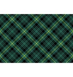 gordon tartan fabric texture check pattern vector image