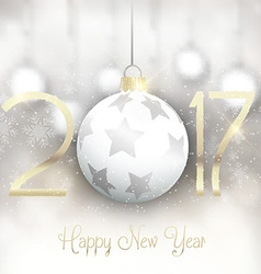 happy new year background 3110 vector image