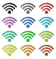 Internet wifi vector