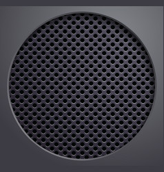 metal grating vector image